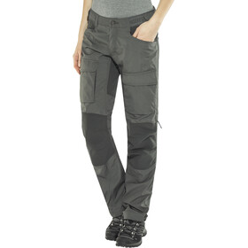 Lundhags Authentic II - Pantalones Mujer - Long gris